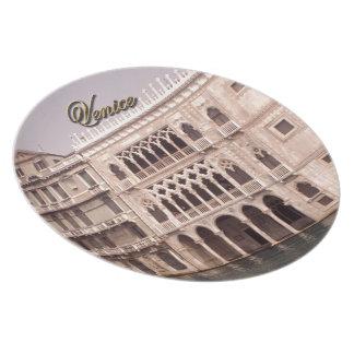 Ca' D'Oro - Venice, Italy Plate