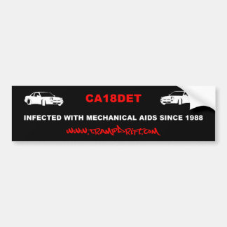 CA_mechanical_aids Bumper Sticker