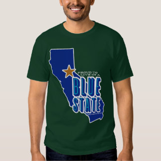 CA - Proud Blue State T-shirt