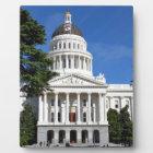 CA state capitol building - Sacramento Plaque