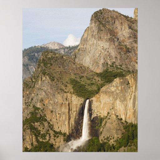 CA, Yosemite NP, Bridalveil Falls Print