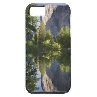 CA, Yosemite NP, El Capitan reflected in Merced iPhone 5 Case