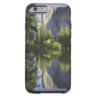 CA, Yosemite NP, El Capitan reflected in Merced Tough iPhone 6 Case