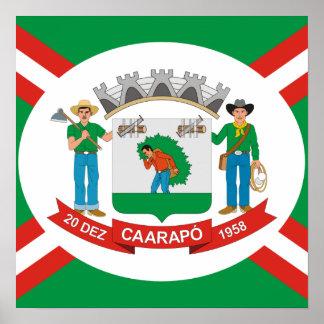 Caarapo  Mato Grossodo Sul, Brazil Poster