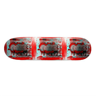 CAB STAMPS Graphic Skate Board Deck