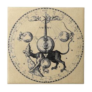 Cabala Emblem Mandala Tiles