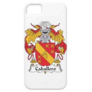 Caballero Family Crest iPhone 5 Covers