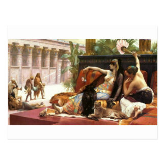 Cabanel Cleopatra Testing Poisons on Condemned Pri Postcard
