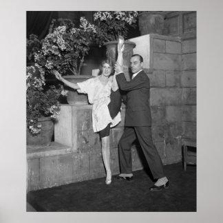 Cabaret Dance Team, 1920s Poster