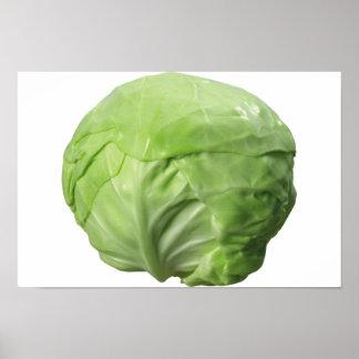 "Cabbage (16.50"" x 11.00""), Value Paper (Matte) Poster"