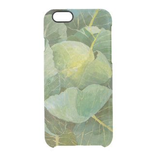 Cabbage Clear iPhone 6/6S Case