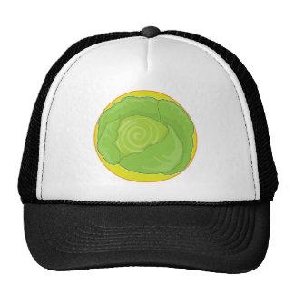 Cabbage Graphic Trucker Hat