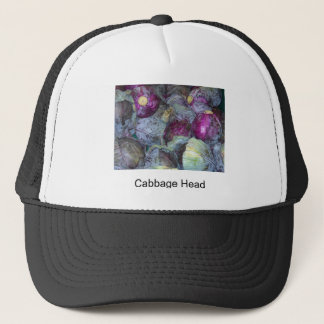 Cabbage Head Trucker Hat