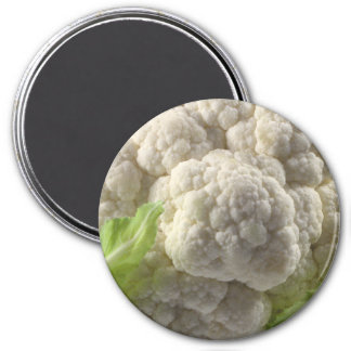 Cabbage Large, 3 Inch Round Magnet