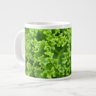Cabbage pattern large coffee mug