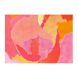 Cabbage Rose IV Acrylic Print