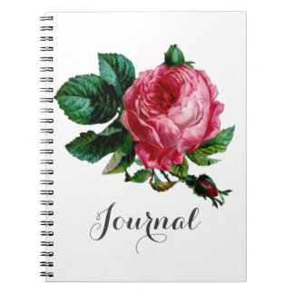 Cabbage Rose Journal Notebook