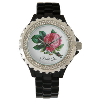 Cabbage Rose Watch