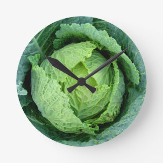 Cabbage Round Clock