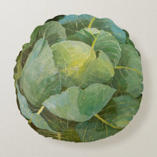 Cabbage Round Pillow