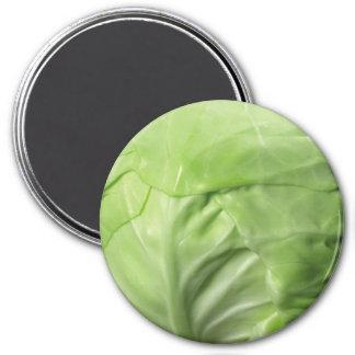 Cabbage Standard, 2¼ Inch Round Magnet