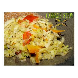 Cabbage Stew Postcard