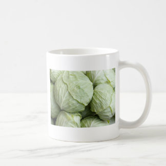 cabbages pattern coffee mug