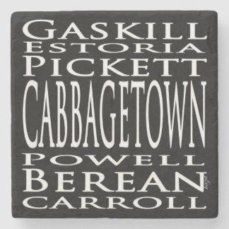 Cabbagetown Atlanta Street Signs, Coasters