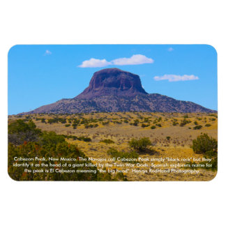 Cabezon Peak, New Mexico Magnet