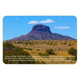 Cabezon Peak, New Mexico Rectangular Photo Magnet