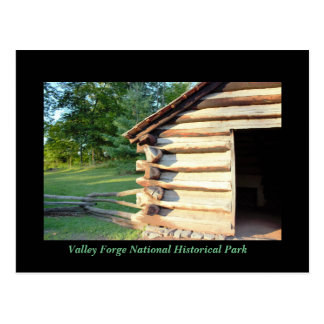 Cabin at Valley Forge Postcard