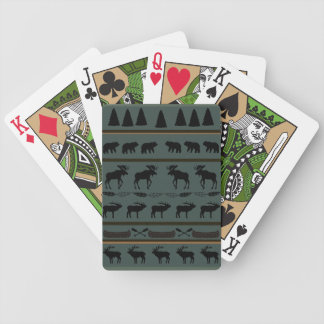Cabin Blanket Playing Cards