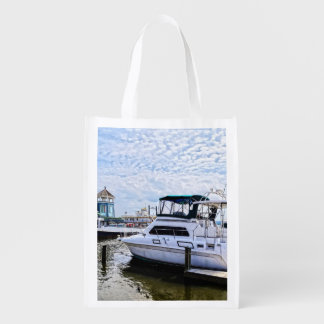 Cabin Cruisers by Founders Park Alexandria VA Reusable Grocery Bag