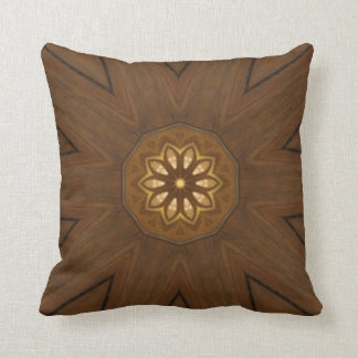 Cabin Fever. Throw Pillow