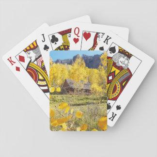 Cabin in Aspens Poker Deck