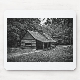 Cabin in the woods mouse pad