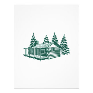 Cabin in the Woods... Personalized Letterhead