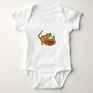 Cabin Pounce Baby Bodysuit