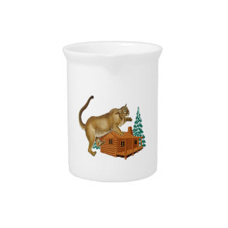 Cabin Pounce Beverage Pitcher
