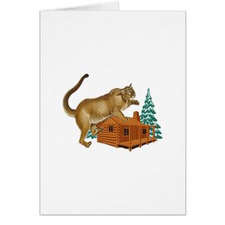 Cabin Pounce Card