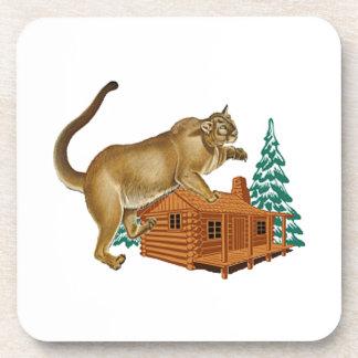 Cabin Pounce Coaster