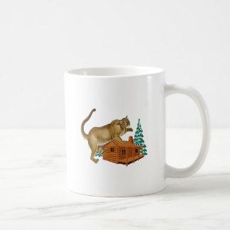 Cabin Pounce Coffee Mug