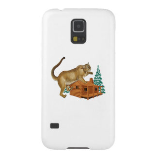 Cabin Pounce Galaxy S5 Cover