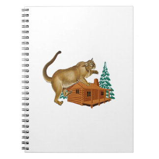 Cabin Pounce Notebook