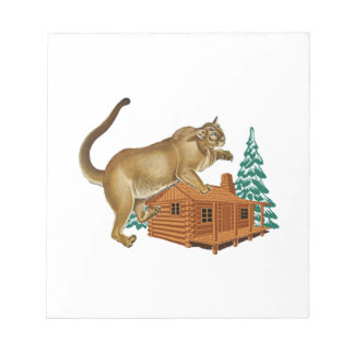 Cabin Pounce Notepad