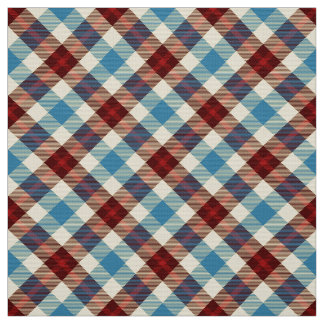 Cabin Tartan~ Tablecloth Fabric