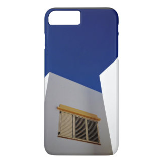 Cabin Themed, Couple Of White Cabins Nect To Each iPhone 7 Plus Case