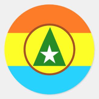 Cabinda, Angola Round Sticker