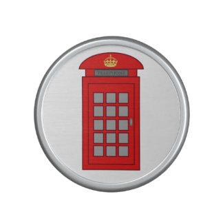 Cabine téléphonique britannique haut-parleur