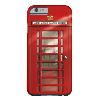 Cabine téléphonique rouge britannique coque iPhone 6 barely there